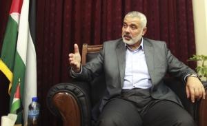 Ismael Haniyah, PM Palestina yng menolak Peta Jalan Damai yang diprakarsai oleh Yasser Arafat bersama Yitzhak Rabin.  Ismael Haniyah memilih jalan Jihad berperang terus melawan Israel.
