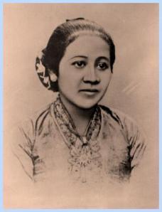 RA Kartini, pejuang emansipasi kaum wanita Indonesia.