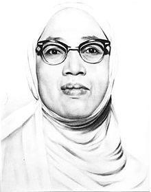 Rasuna Said, Pejuang Nasional dari Minang, juga berkerung tanpa cadar